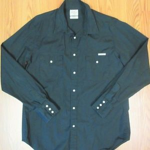LUCKY BRAND REGULAR FIT Mens 100% COTTON WESTERN